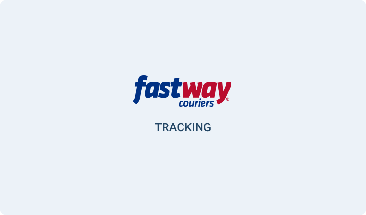 fast way couriers tracking