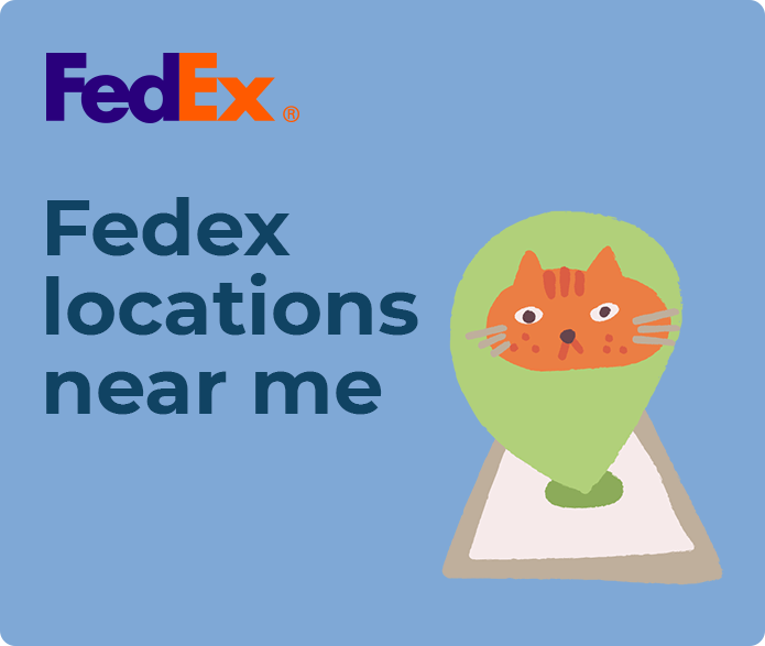 fedex locations near me