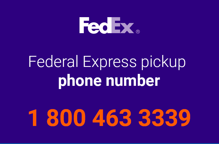 federal express number