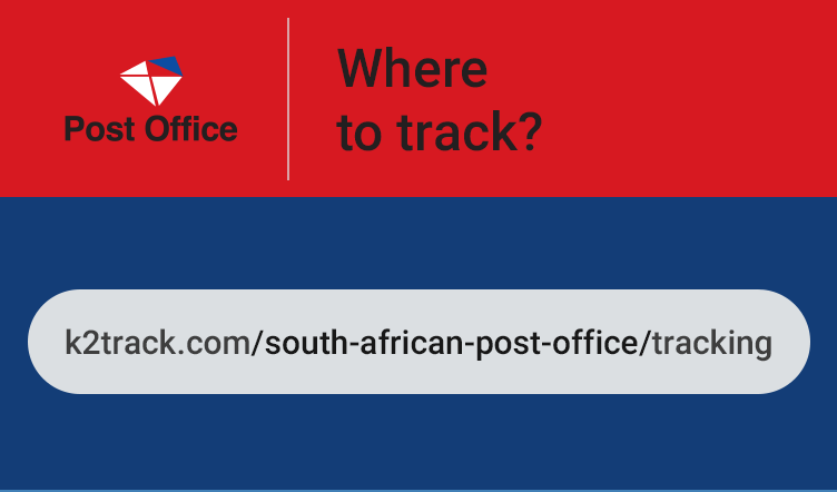 south african post office parcel tracking