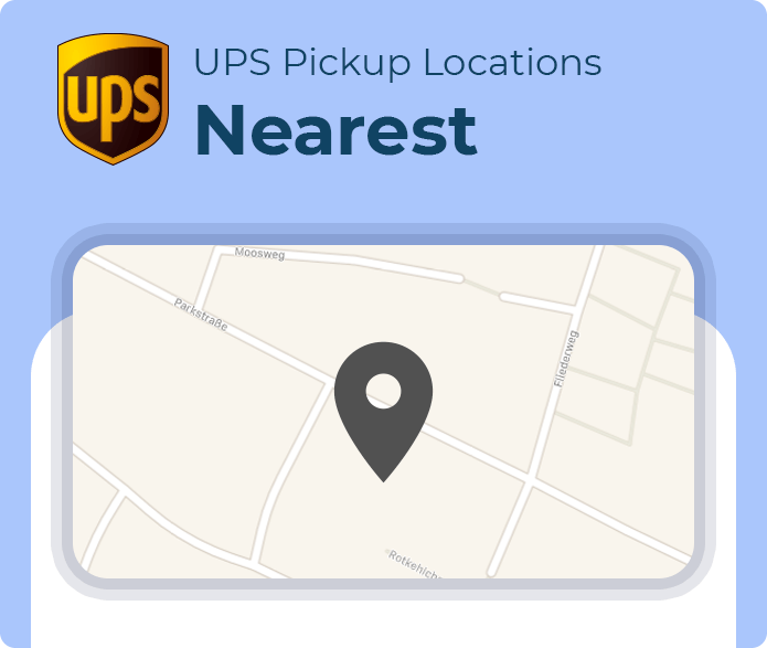 nearest ups pickup location