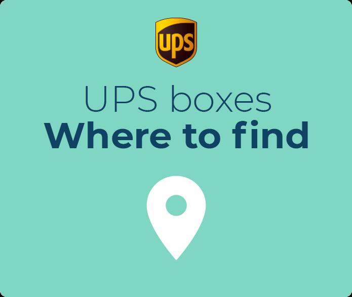 UPS boxes ᐈ Online Info | k2track