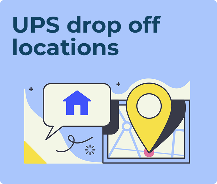 ups drop off locations