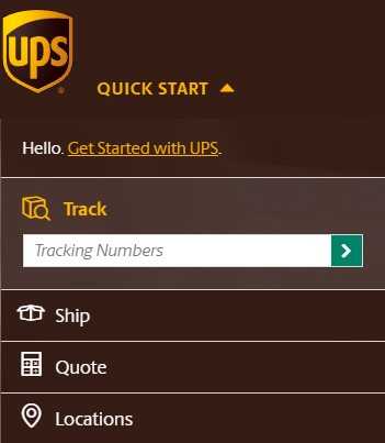 ups first class tracking