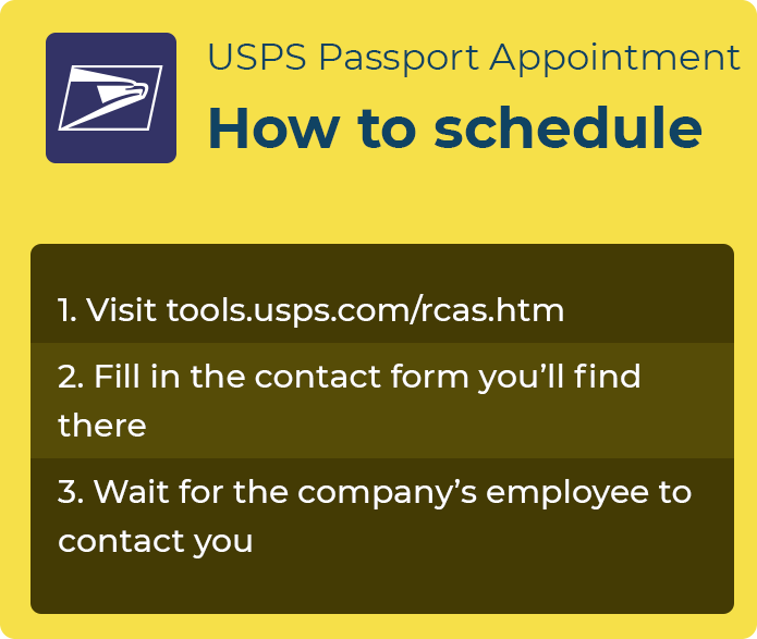 us passport appointment usps