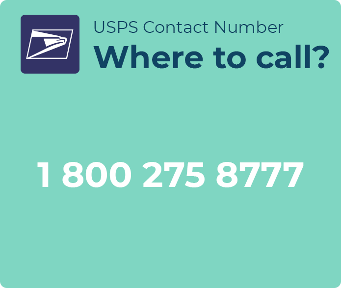 usps contact phone number
