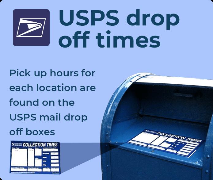 USPS Drop Off • K2track