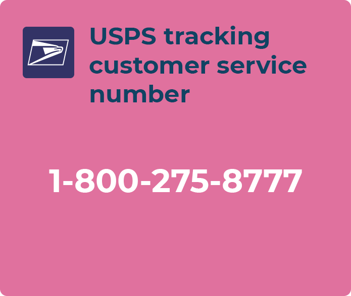 usps tracking customer service number