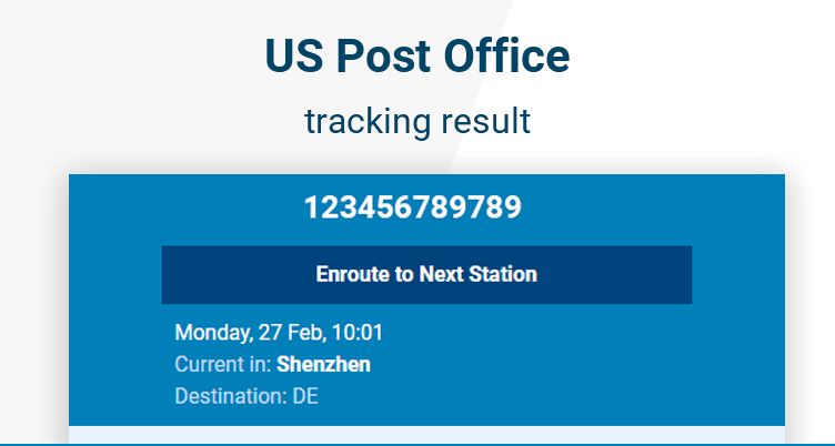 usa post office tracking
