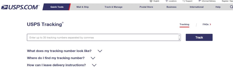 Us Postal Service Tracking K2track