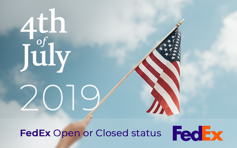 Does Fedex deliver on July 4th 2019