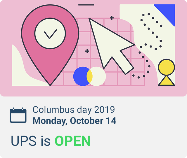 does ups run on columbus day 2019