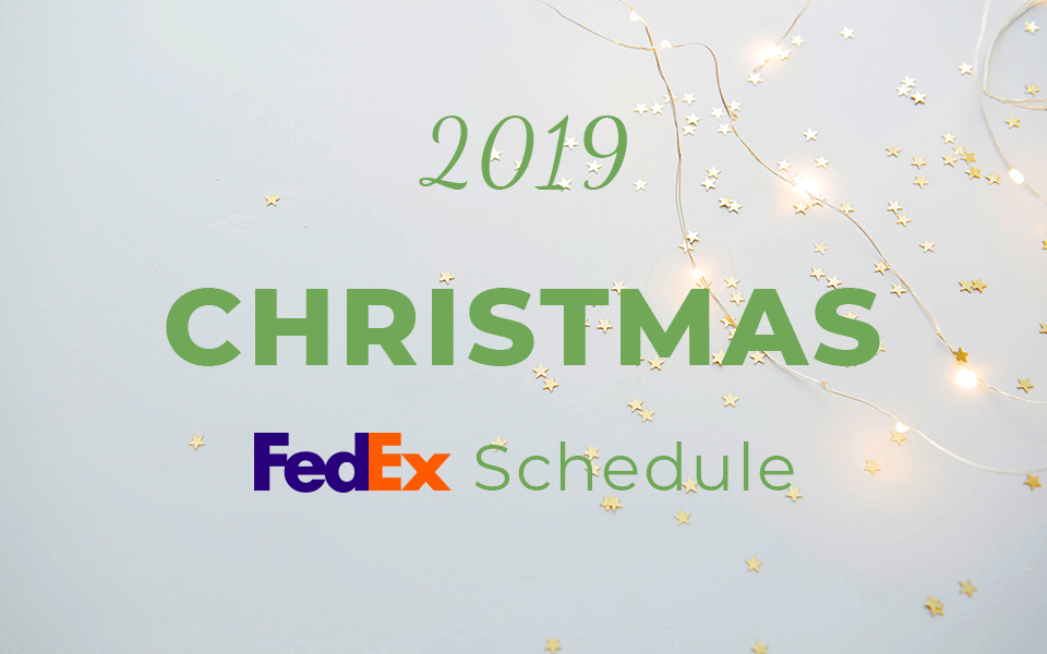Does Fedex deliver on Christmas Eve 2019