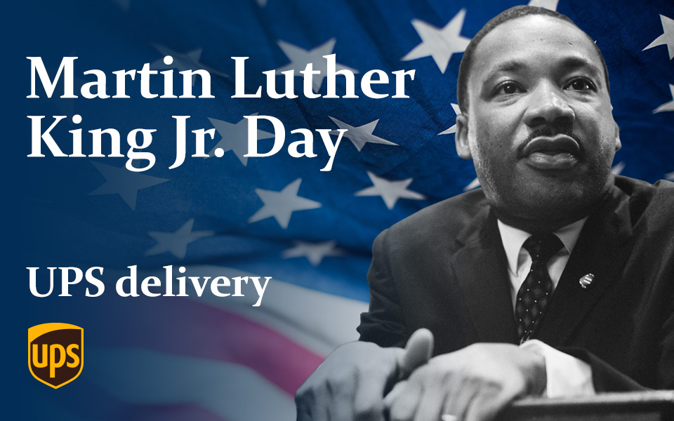 Is UPS open on MLK day 2020