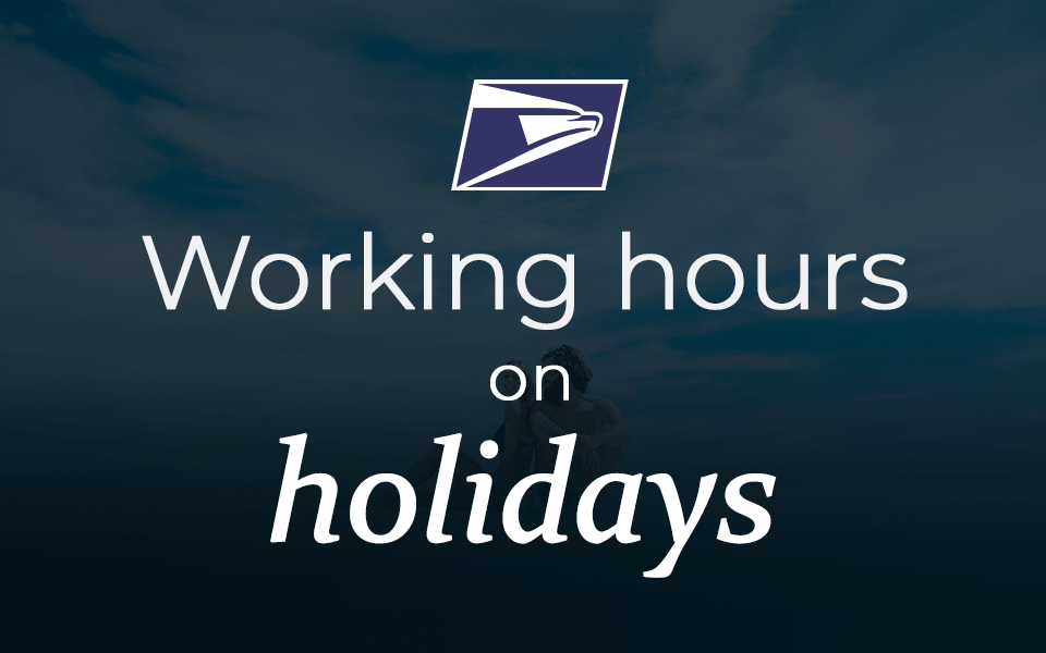 Usps Holiday Hours 2019 K2track